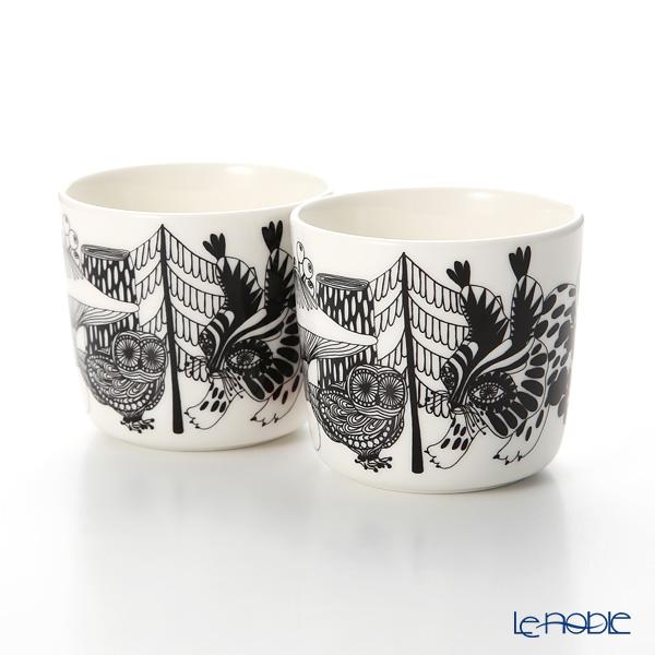 マリメッコ(marimekko) Veljekset ヴェルイェクセトゥ 17AW コーヒーカップセット(ハンドルナシ)