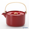 Marimekko Oiva / Superb Red Tea Pot 18cm / 700ml