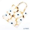 Marimekko Unikko / Poppy Beige x Off-White x Blue Bag 43x43cm