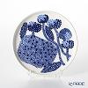 Marimekko Mynsteri / Pattern for Making Bobbin Lace 18SS Plate 13.5cm White x Blue