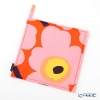 Marimekko 'Unikko / Poppy' Orange x Pink x Yellow Pot Holder 21x21cm (Polyester)
