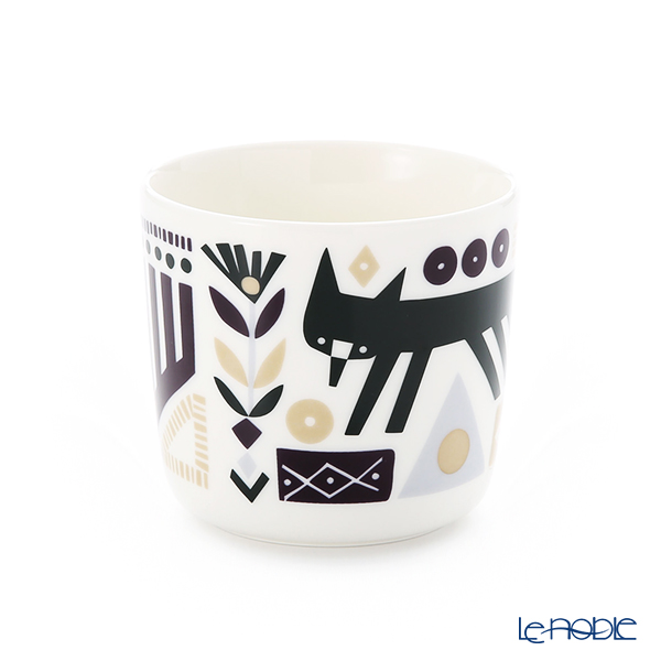 Marimekko Svaale / Arctic Fox 18AW Coffee Cup without handle (set of 2)