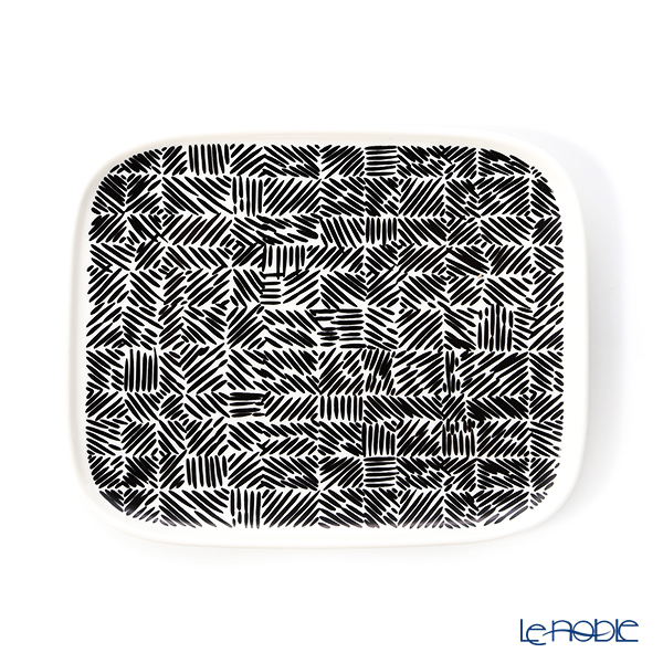 Marimekko 'Juustomuotti / Cheese Mould' Rectangular Plate 15x12.5cm