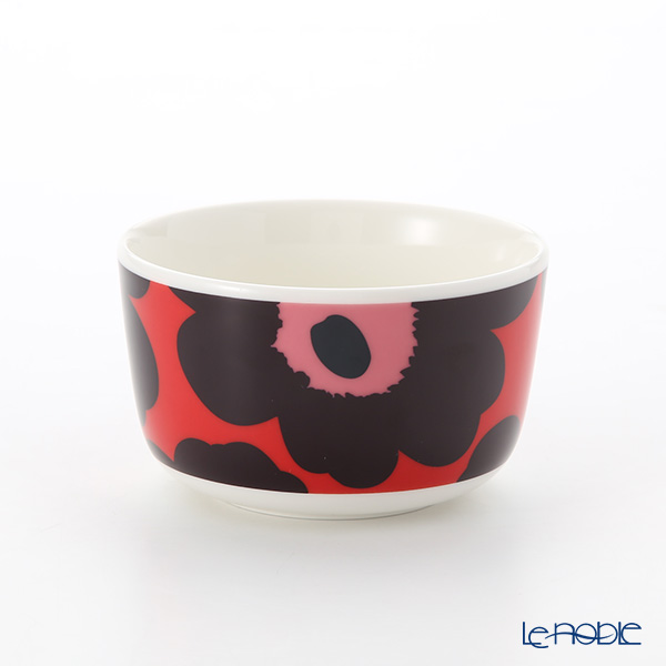 Marimekko Unikko / Poppy Red x Violet x Pink 18AW Bowl 250ml