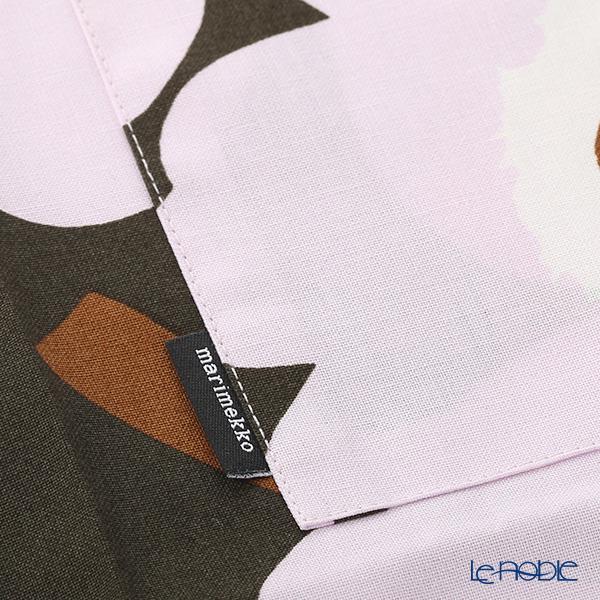 マリメッコ(marimekko) Pieni Unikko ピエニ ウニッコ 19SSエプロン DG×PK 着丈83×身幅83cm コットン