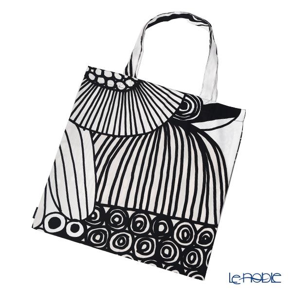 Marimekko 'Siirtolapuutarha / City Garden' Fabric Bag 43cm (Cotton)