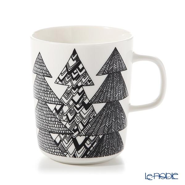 マリメッコ(marimekko) Kuusikossa クーシコッサ/トウヒの森 マグカップ 250ml 070031-190 19AW
