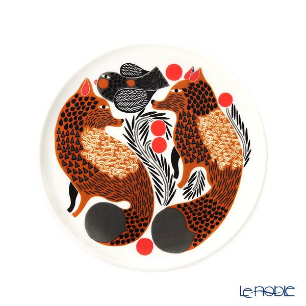 マリメッコ(marimekko) Ketunmarja ケトゥンマルヤ/キツネとベリー プレート 13.5cm 070037-189 19AW