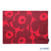 Marimekko 'Unikko / Poppy' Pink x Red Placemat 42.5x32.5cm (Cotton acrylic resin processing)