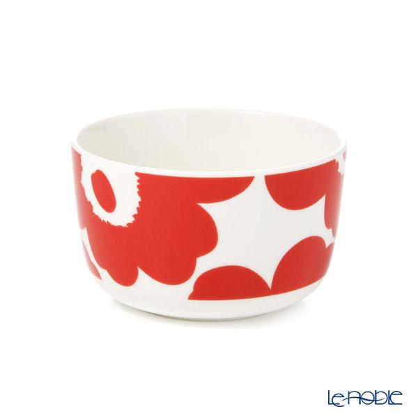 Marimekko 'Unikko / Poppy' White x Red Bowl 250ml