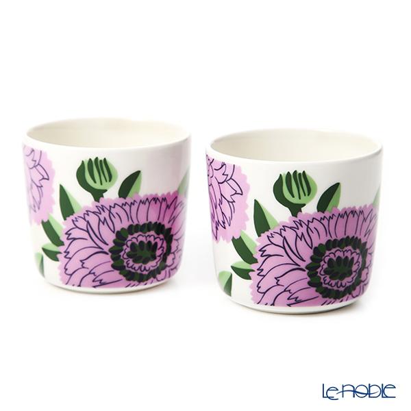 Marimekko 'Primavera - Spring' Lilac 070159-146 Coffee Cup without handle (set of 2)