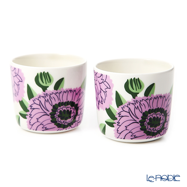 マリメッコ(marimekko) Primavera プリマヴェーラ/春 コーヒーカップセット(ハンドルなし) 070159-146/20SS