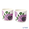 Marimekko 'Primavera - Spring' Lilac 070159-146 Coffee Cup without handle (set of 2)