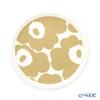 マリメッコ(marimekko) Unikko ウニッコプレート 13.5cm ホワイト×ベージュ 070398-180/20SS