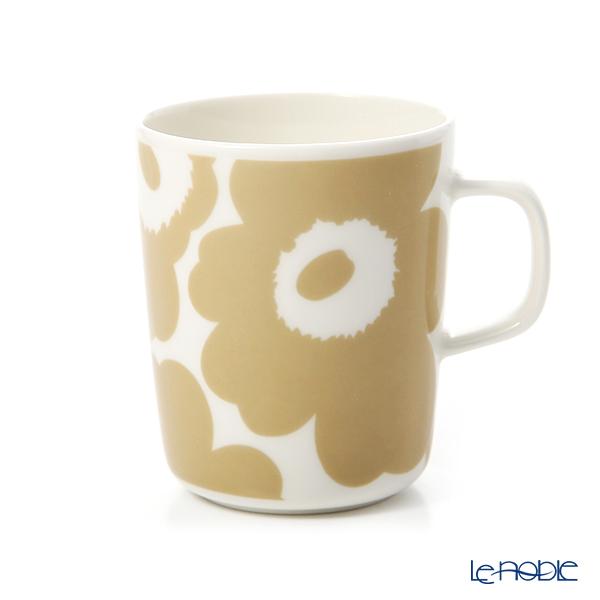 マリメッコ(marimekko) Unikko ウニッコ マグカップ 250ml ホワイト×ベージュ 070401-180/20SS