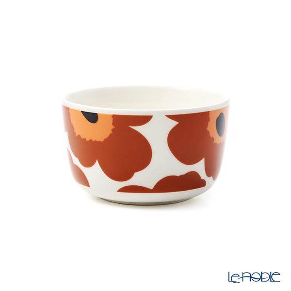マリメッコ(marimekko) Unikko ウニッコ ボウル 250ml(ホワイト×ブラウン×ブラック) 070400-189/20AW