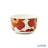 Marimekko 'Unikko / Poppy' White x Brown x Black 070400-189 Bowl 250ml