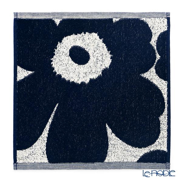 マリメッコ(marimekko) Unikko ウニッコ ミニタオル コットン×ダークブルー 30×30cm コットン 070528-851