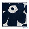 マリメッコ(marimekko) Unikko ウニッコミニタオル コットン×ダークブルー 30×30cm コットン 070528-851