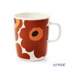 マリメッコ(marimekko) Unikko ウニッコマグカップ 250ml(ホワイト×ブラウン×ブラック) 070401-189/20AW