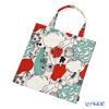 Marimekko 'Vihannesmaa / Vegetable Garden (Patch)' Beige x Orange x Moss Green 070919-836 Fabric Bag (Cotton)