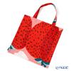 Marimekko 'Mansikkavuoret / Strawberry' Pink x Red 070932-330 Fabric Bag (Cotton)