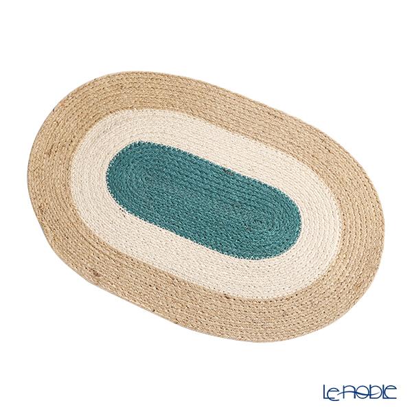 マリメッコ(marimekko) Melooni メローニ/メロン プレースマット 32×45cm ベージュ×グリーン ジュート100% 070962-800/21AW