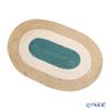 マリメッコ(marimekko) Melooni メローニ/メロンプレースマット 32×45cm ベージュ×グリーン ジュート100% 070962-800/21AW