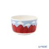 Marimekko 'Mansikkavuoret / Strawberry' Red x Blue x White 070785-135 Bowl 250ml