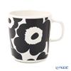 Marimekko 'Unikko / Poppy' White x Black 070636-190 Mug 400ml