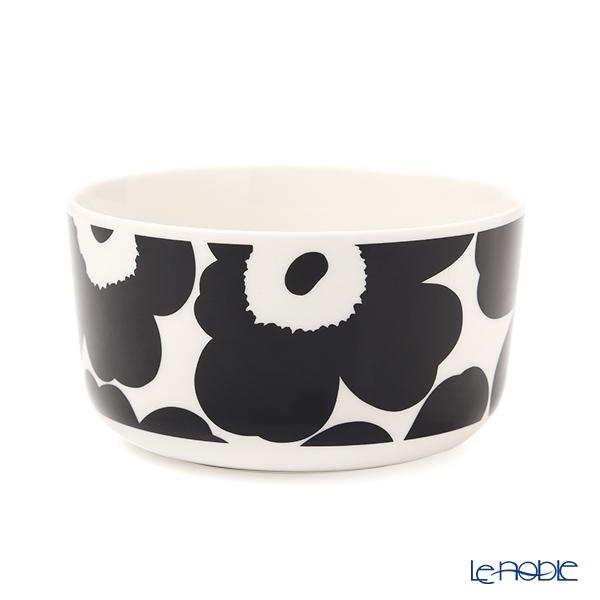 マリメッコ(marimekko) Unikko ウニッコ ボウル 500ml(ホワイト×ブラック) 070638-190/21SS