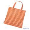Marimekko 'Alku / The Beginning' Brown x Cotton White 071128-880 Fabric Bag (Cotton)