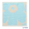 マリメッコ(marimekko) Unikko ウニッコミニタオル30×30cm オフホワイト×ライトブルー コットン 071153-151/21AW