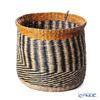 Marimekko 'Silkkikuikka / Silk Worm' Brown & Black & Amber Yellow071347-800 Storage Basket H30cm