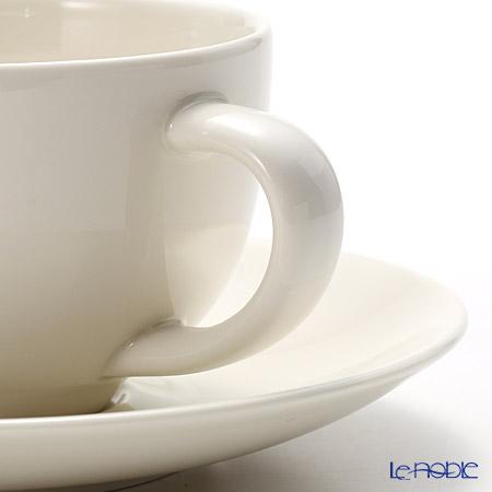 アラビア(ARABIA) 24h ホワイトティーカップ&ソーサー 0.26L