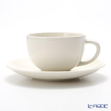 アラビア(ARABIA) 24h ホワイト ティーカップ&ソーサー 0.26L