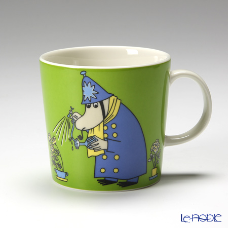 Arabia 'Moomin Classics - Inspector' Green 2009 Mug 300ml