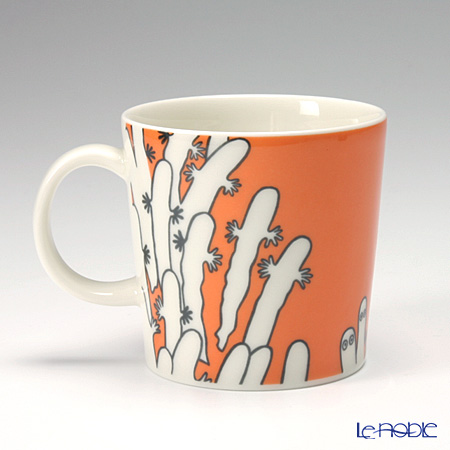 Arabia 'Moomin Classics - Hattifatteners' Orange 2007 Mug 300ml
