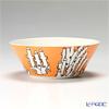 Arabia 'Moomin Classics - Hattifatteners' Orange 2007 Bowl 15cm