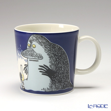 Arabia 'Moomin Classics - The Groke' Dark Blue 2005 Mug 300ml