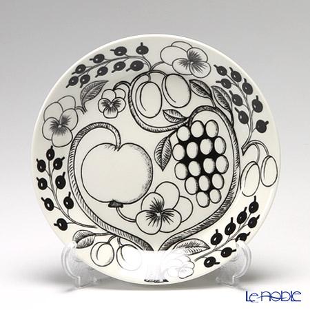 Arabia Black Paratiisi Plate, flat 21 cm