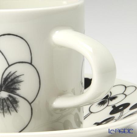 アラビア(ARABIA) パラティッシ ブラックコーヒーカップ&ソーサー 180cc