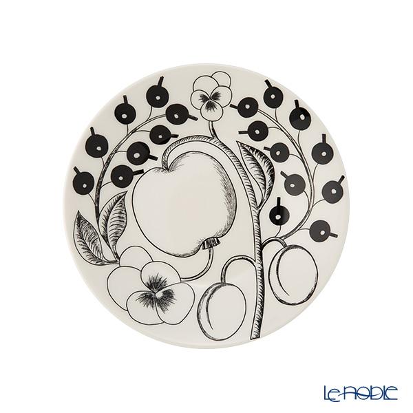 Arabia Black Paratiisi Plate, flat 16,5 cm