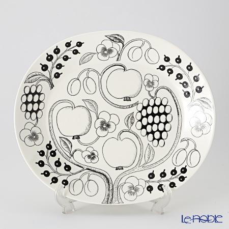 Arabia Black Paratiisi Platter 36 cm