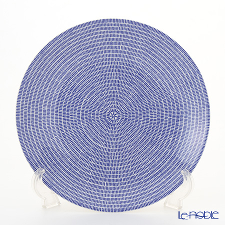 Arabia 24h Avec Blue Plate flat 26 cm