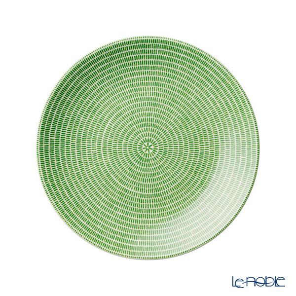 Arabia 24h Avec Green Plate Flat 20cm