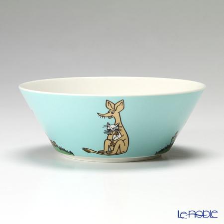 Arabia 'Moomin Classics - Sniff' Turquoise Blue 2008 Bowl 15cm