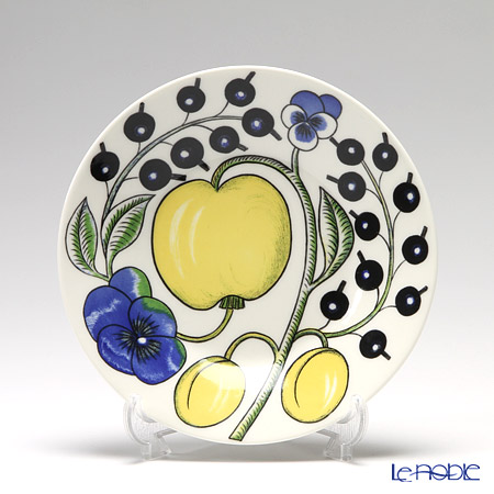 Arabia 'Paratiisi' Colorful 1005594 Flat Plate 16,5cm