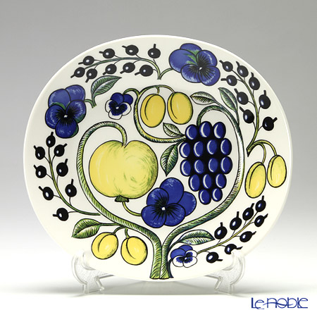 Arabia Paratiisi Colourful Plate, oval 25 cm