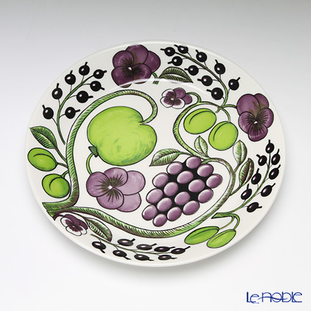 Arabia 'Paratiisi' Purple Plate 21cm